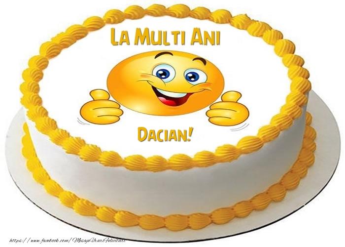 Felicitari de zi de nastere - La multi ani, Dacian!