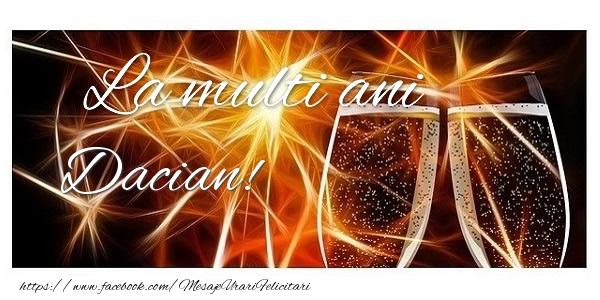Felicitari de zi de nastere - La multi ani Dacian!