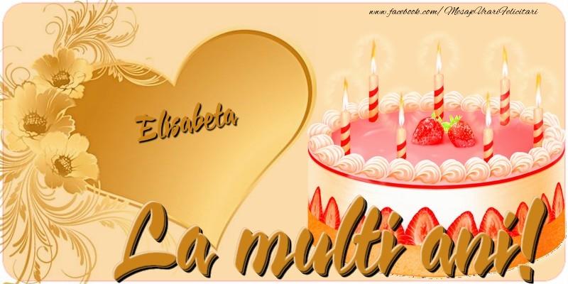 Felicitari de zi de nastere - La multi ani, Elisabeta