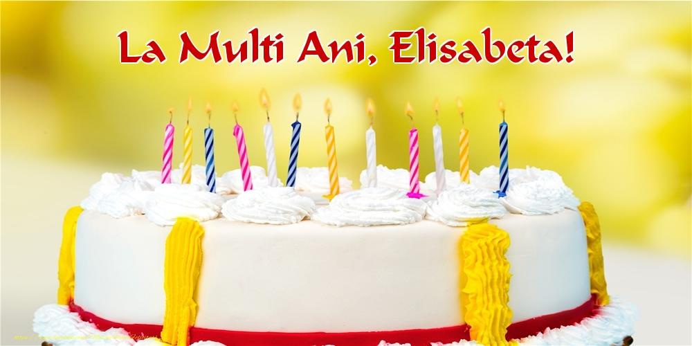 Felicitari de zi de nastere - La multi ani, Elisabeta!