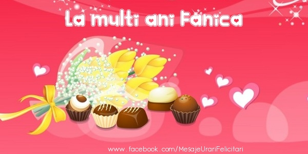 Felicitari de zi de nastere - La multi ani Fanica