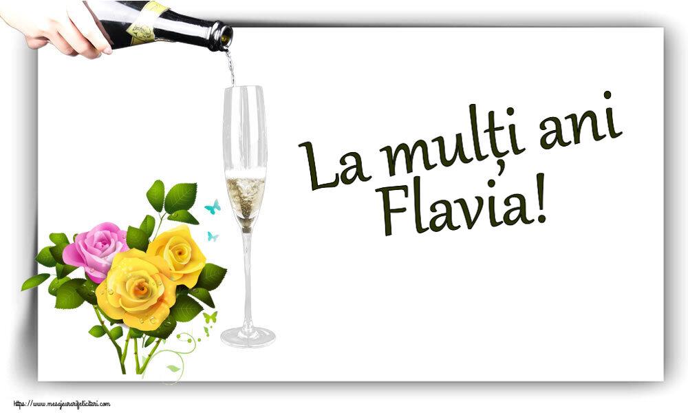 Felicitari de zi de nastere - La mulți ani Flavia!