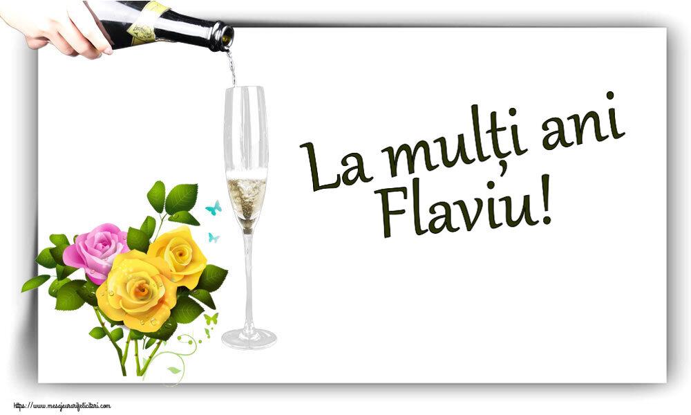 Felicitari de zi de nastere - La mulți ani Flaviu!