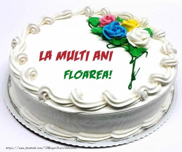 Felicitari de zi de nastere - La multi ani Floarea!