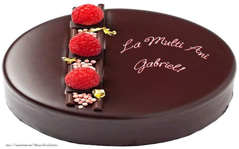 Felicitari de zi de nastere - La multi ani Gabriel!
