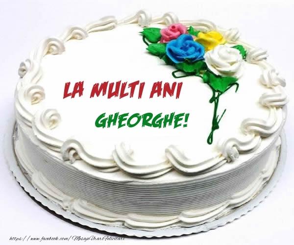 Felicitari de zi de nastere - La multi ani Gheorghe!