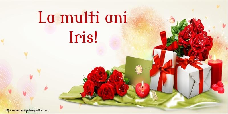 Felicitari de zi de nastere - La multi ani Iris!