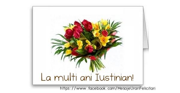 Felicitari de zi de nastere - La multi ani Iustinian!