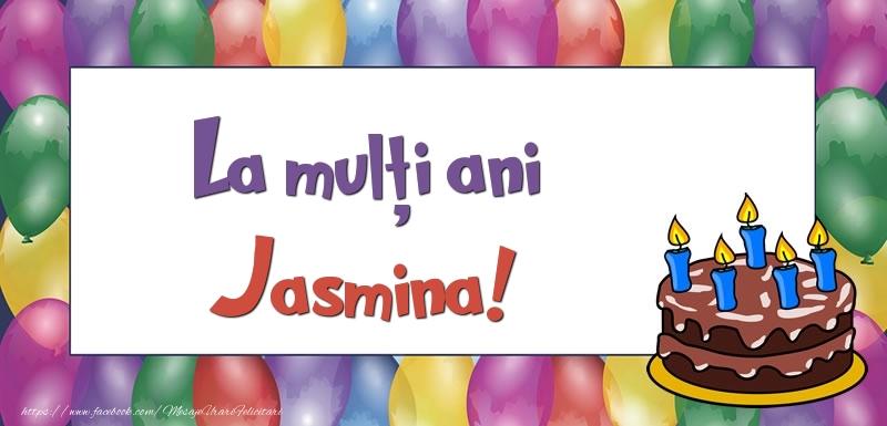 Felicitari de zi de nastere - La mulți ani, Jasmina!