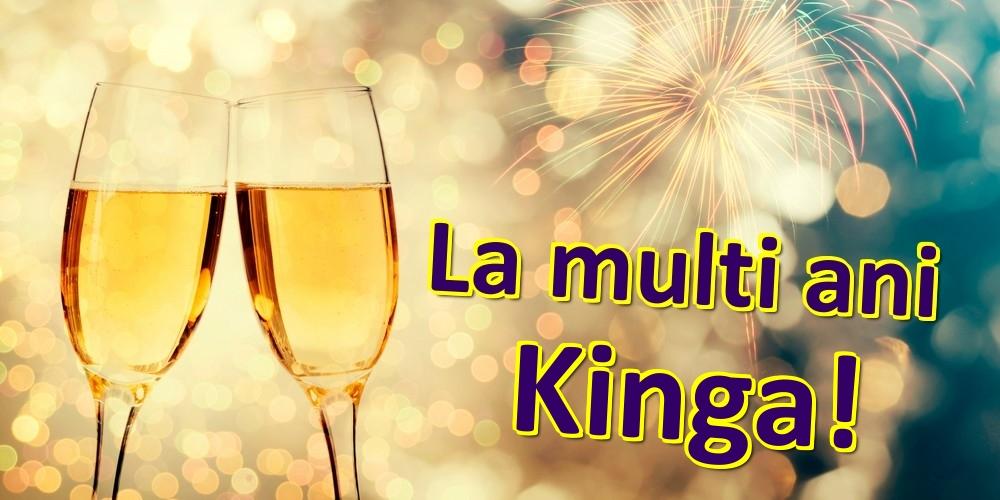Felicitari de zi de nastere - La multi ani Kinga!