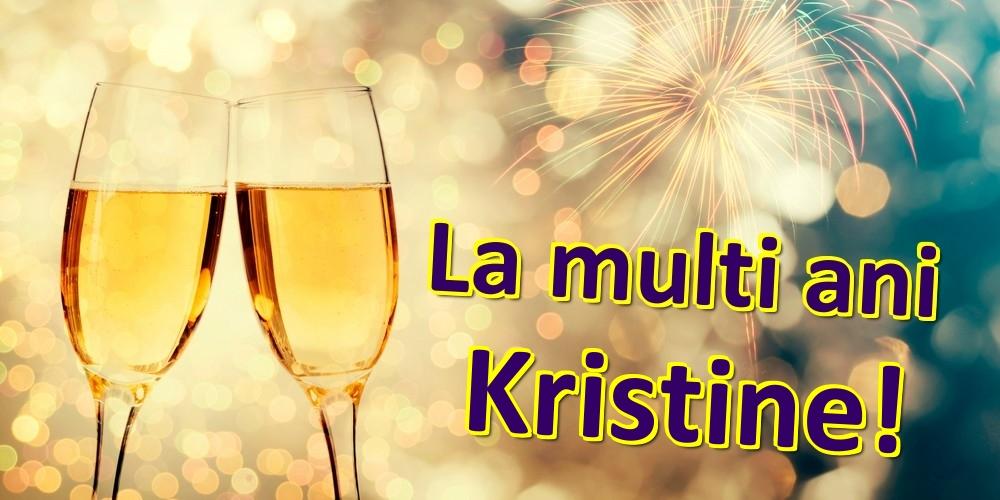 Felicitari de zi de nastere - La multi ani Kristine!