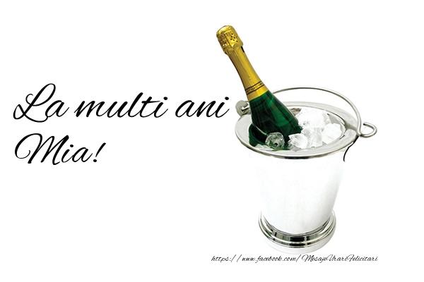 Felicitari de zi de nastere - La multi ani Mia!