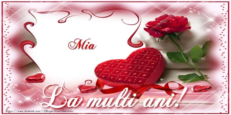 Felicitari de zi de nastere - Mia La multi ani!
