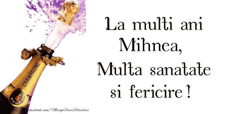 Felicitari de zi de nastere - La multi ani Mihnea! Multa sanatate si fericire!