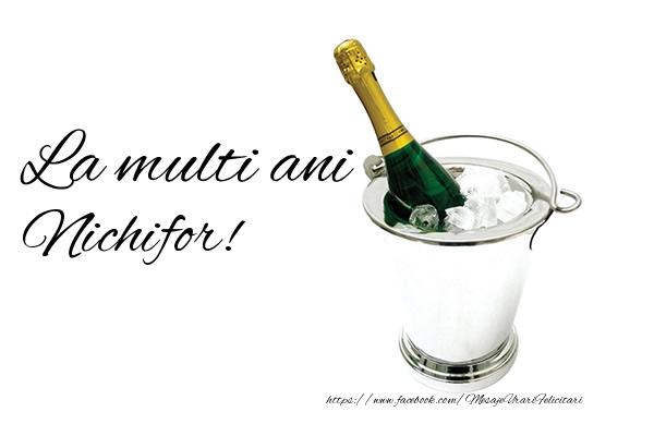 Felicitari de zi de nastere - La multi ani Nichifor!