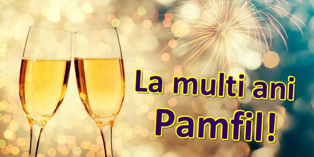 Felicitari de zi de nastere - La multi ani Pamfil!