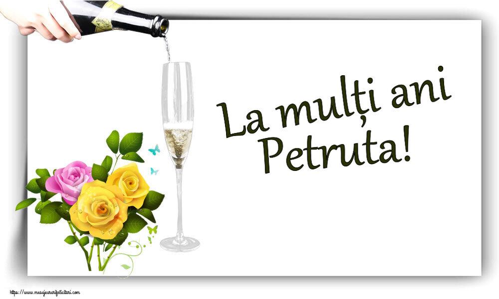 Felicitari de zi de nastere - La mulți ani Petruta!