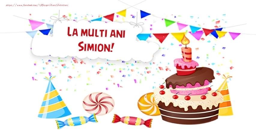 Felicitari de zi de nastere - La multi ani Simion!