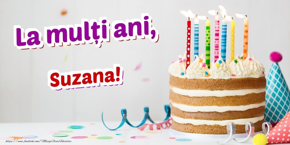 Felicitari de zi de nastere - La mulți ani, Suzana
