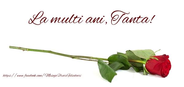 Felicitari de zi de nastere - La multi ani, Tanta!