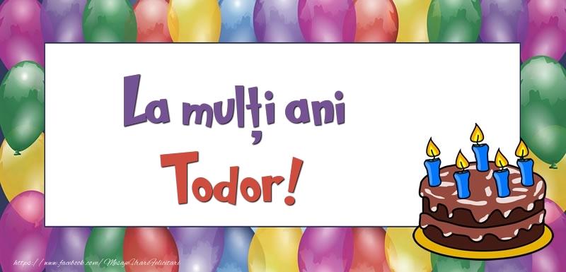 Felicitari de zi de nastere - La mulți ani, Todor!