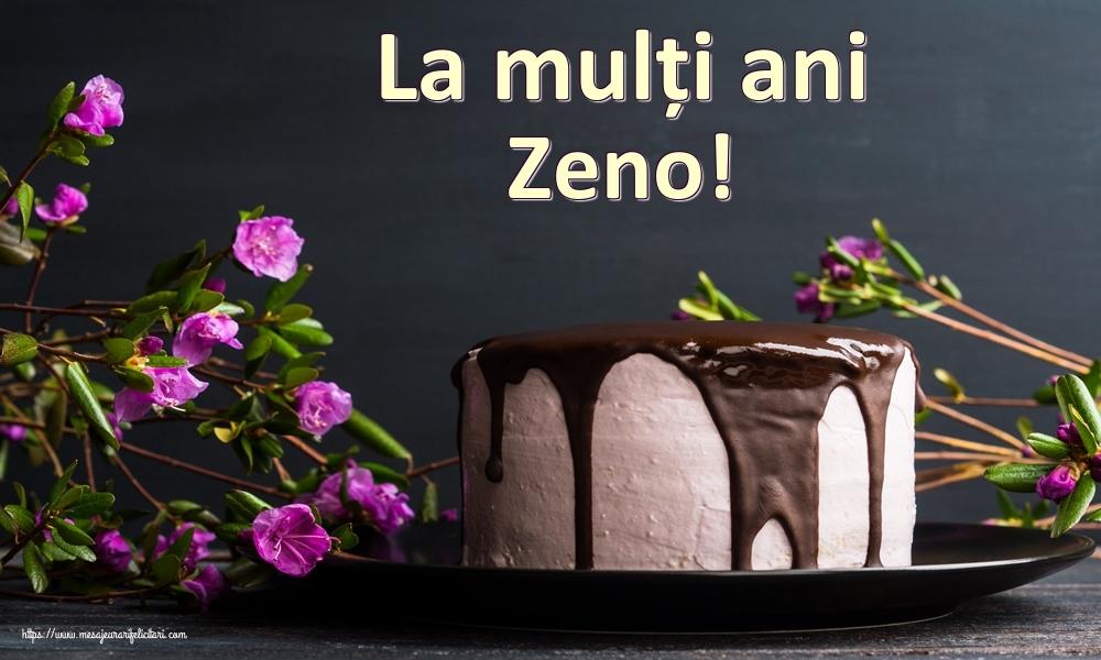 Felicitari de zi de nastere - La mulți ani Zeno!
