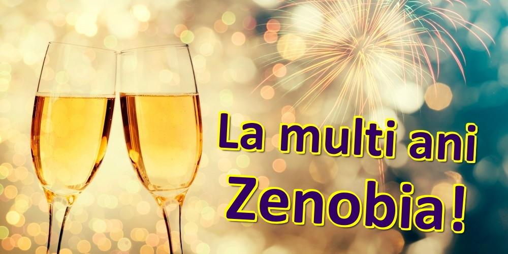 Felicitari de zi de nastere - La multi ani Zenobia!