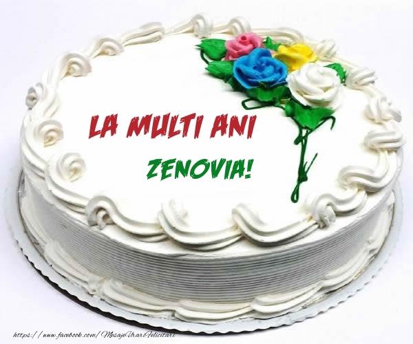 Felicitari de zi de nastere - La multi ani Zenovia!