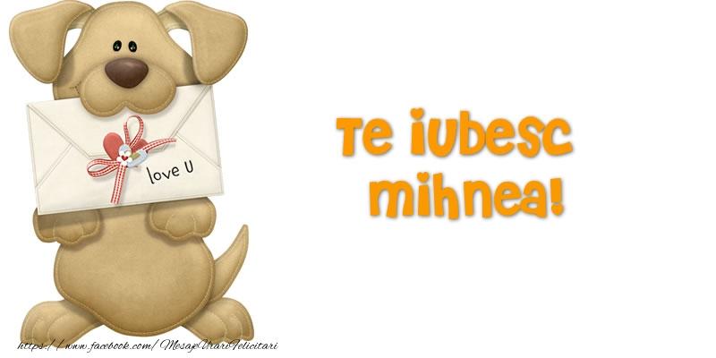 Felicitari Ziua indragostitilor - Te iubesc Mihnea!