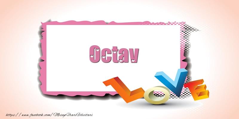 Felicitari Ziua indragostitilor - Octav Love