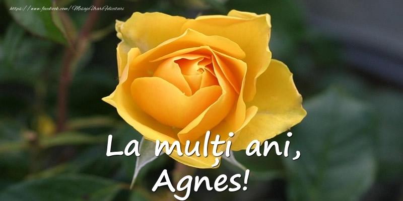 Felicitari de Ziua Numelui - La mulți ani, Agnes!