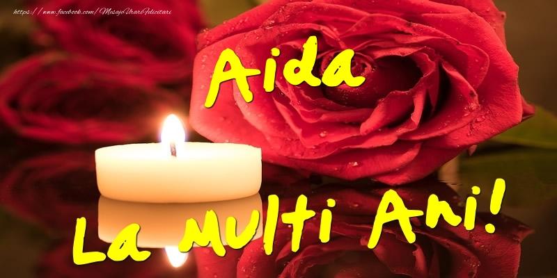 Felicitari de Ziua Numelui - Aida La Multi Ani!
