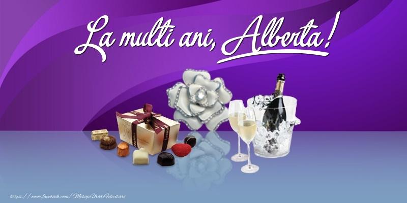 Felicitari de Ziua Numelui - La multi ani, Alberta!