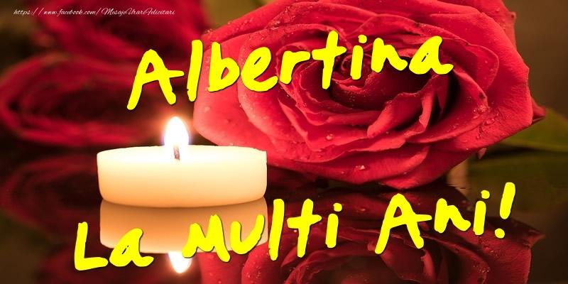 Felicitari de Ziua Numelui - Albertina La Multi Ani!