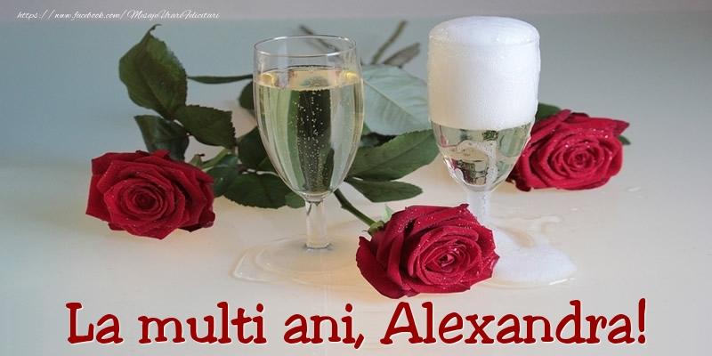 Felicitari de Ziua Numelui - La multi ani, Alexandra!