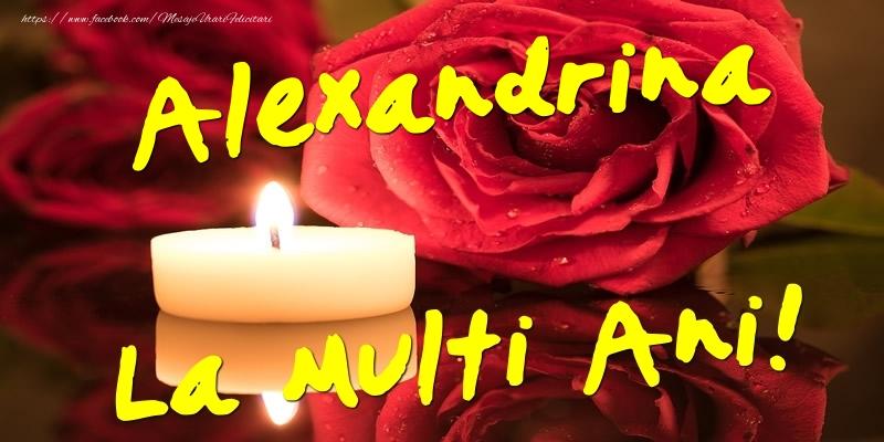Felicitari de Ziua Numelui - Alexandrina La Multi Ani!