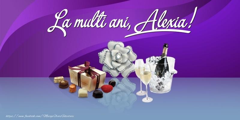 Felicitari de Ziua Numelui - La multi ani, Alexia!