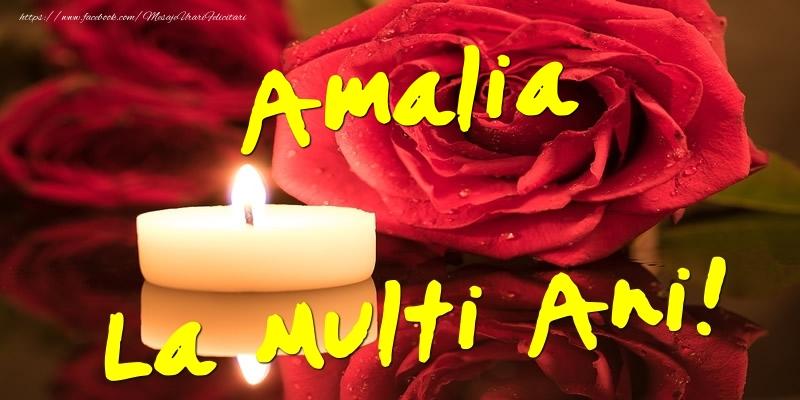 Felicitari de Ziua Numelui - Amalia La Multi Ani!