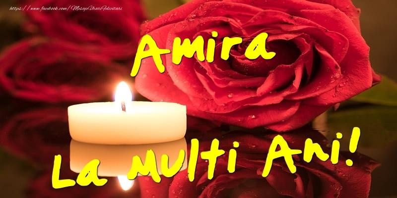 Felicitari de Ziua Numelui - Amira La Multi Ani!