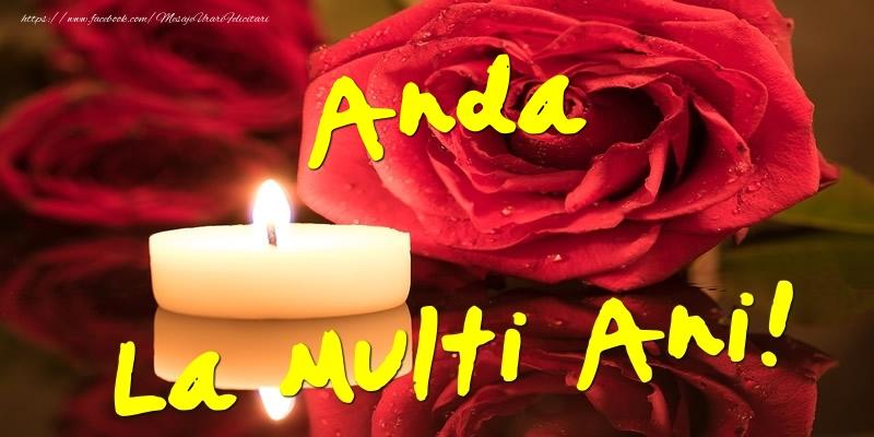 Felicitari de Ziua Numelui - Anda La Multi Ani!