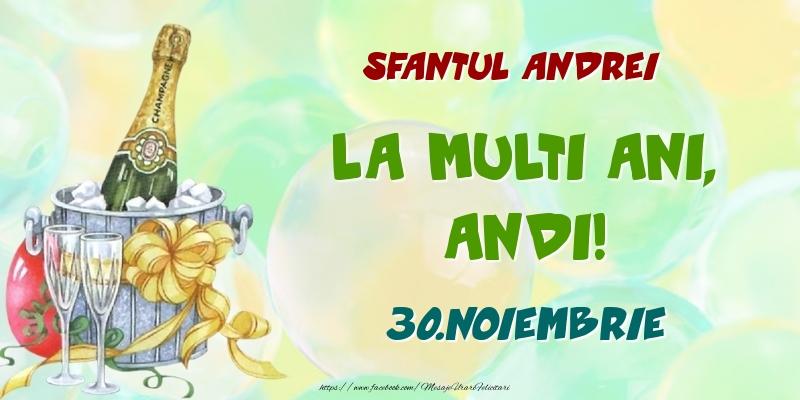 Felicitari de Ziua Numelui - Sfantul Andrei La multi ani, Andi! 30.Noiembrie