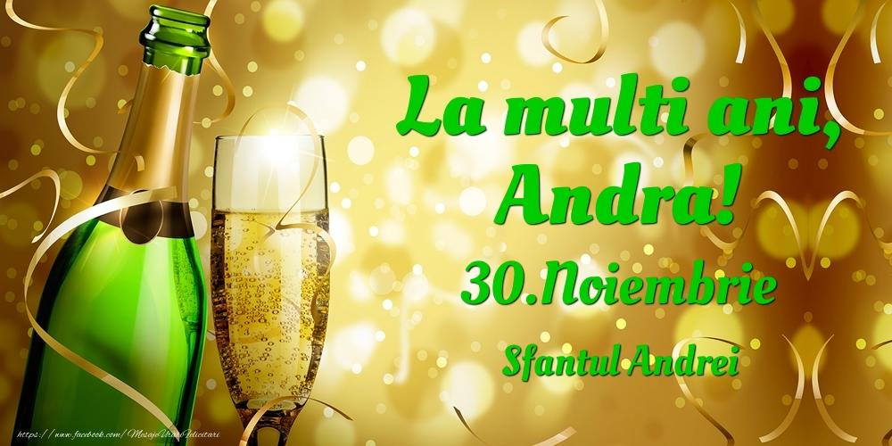 Felicitari de Ziua Numelui - La multi ani, Andra! 30.Noiembrie - Sfantul Andrei