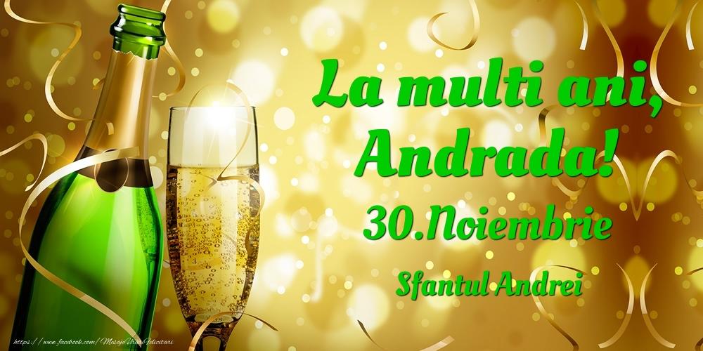 Felicitari de Ziua Numelui - La multi ani, Andrada! 30.Noiembrie - Sfantul Andrei