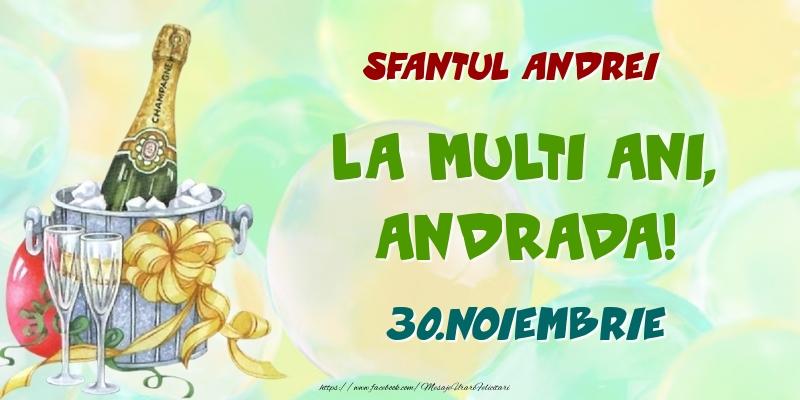 Felicitari de Ziua Numelui - Sfantul Andrei La multi ani, Andrada! 30.Noiembrie