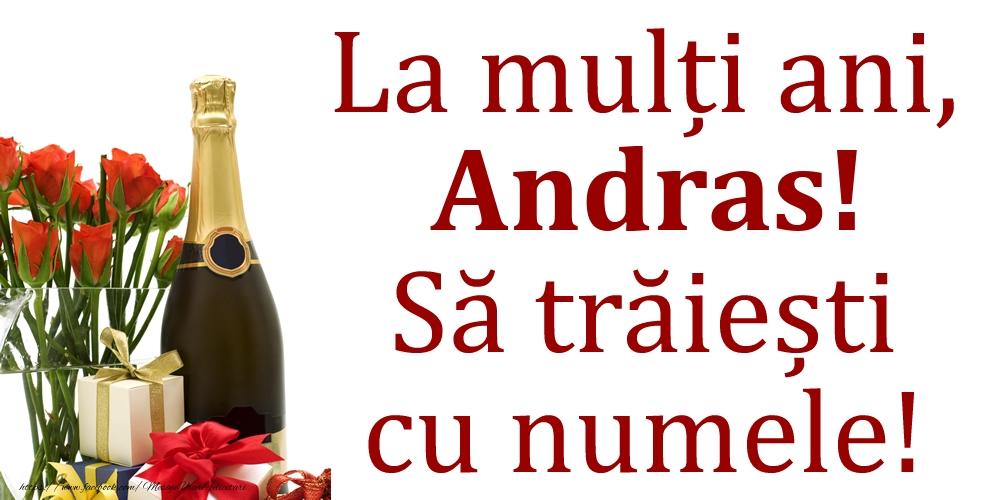 Felicitari de Ziua Numelui - La mulți ani, Andras! Să trăiești cu numele!