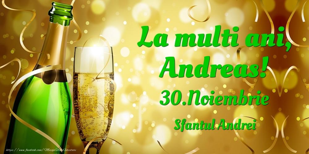 Felicitari de Ziua Numelui - La multi ani, Andreas! 30.Noiembrie - Sfantul Andrei