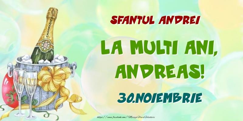 Felicitari de Ziua Numelui - Sfantul Andrei La multi ani, Andreas! 30.Noiembrie