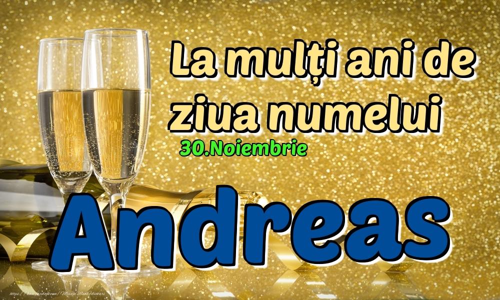 Felicitari de Ziua Numelui - 30.Noiembrie - La mulți ani de ziua numelui Andreas!