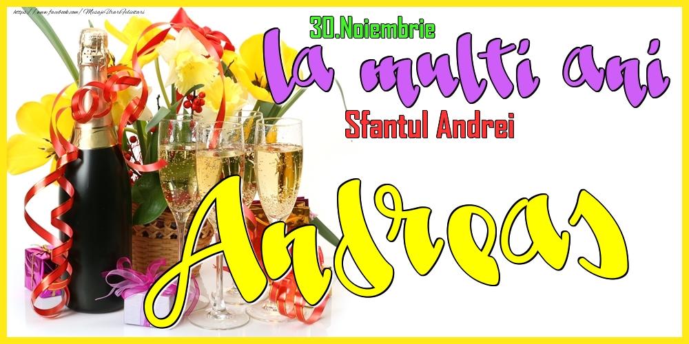 Felicitari de Ziua Numelui - 30.Noiembrie - La mulți ani Andreas! - Sfantul Andrei
