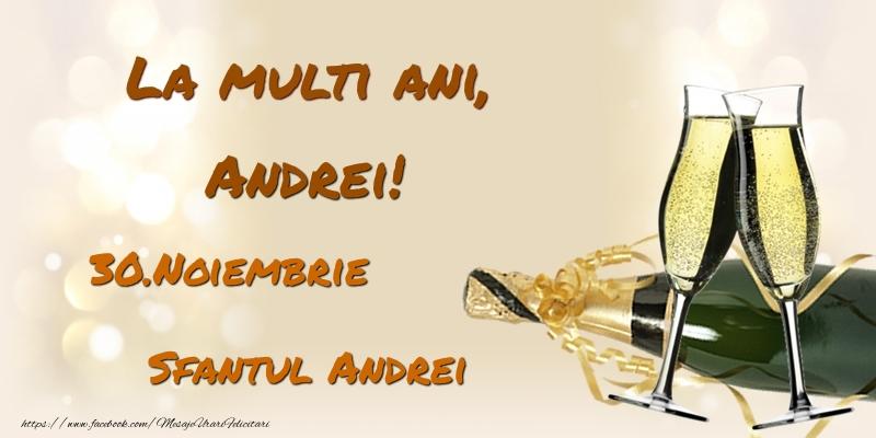 Felicitari de Ziua Numelui - La multi ani, Andrei! 30.Noiembrie - Sfantul Andrei
